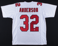 Jamal Anderson Signed Jersey (PSA COA) at PristineAuction.com