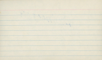 Joe DiMaggio Signed 3x5 Index Card (JSA ALOA) at PristineAuction.com