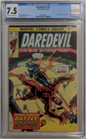 "1976 ""Daredevil"" Issue #132 Marvel Comic Book (CGC 7.5) at PristineAuction.com"