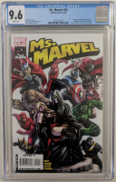 "2010 ""Ms. Marvel"" Issue #50 Marvel Comic Book (CGC 9.6) at PristineAuction.com"