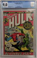 "1972 ""The Incredible Hulk"" Issue #155 Marvel Comic Book (CGC 9.0) at PristineAuction.com"