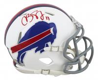 Cole Beasley Signed Bills Speed Mini Helmet (Beckett Hologram) at PristineAuction.com