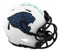 Fred Taylor Signed Jaguars Lunar Eclipse Alternate Speed Mini-Helmet (Beckett Hologram) at PristineAuction.com