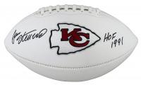 "Jan Stenerud Signed Chiefs Logo Football Inscribed ""HOF 1991"" (Beckett Hologram) at PristineAuction.com"