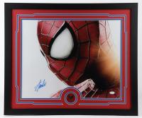 "Stan Lee Signed ""Spider-Man"" 22x26 Custom Framed Photo Display (JSA COA) at PristineAuction.com"