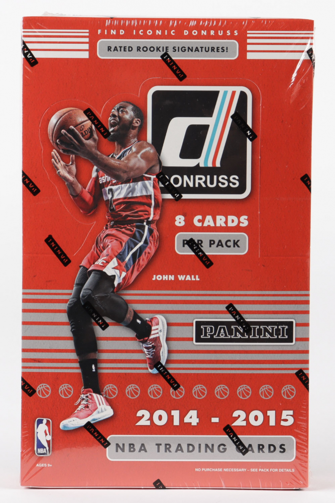 2014-15 Panini Donruss Basketball Hobby Box with (24) Packs at PristineAuction.com
