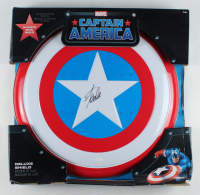 "Stan Lee Signed ""Captain America"" Marvel Authentic Full-Size Metal Shield (JSA COA) (See Description) at PristineAuction.com"
