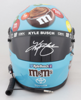 Kyle Busch Signed NASCAR M&M's Hazelnut Spread Full-Size Helmet (PA COA) at PristineAuction.com