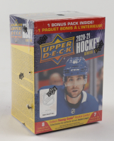 2020-21 Upper Deck Series 2 Hockey Blaster Box with (7) Packs at PristineAuction.com