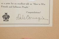 "Dale Carnegie Signed ""Lincoln The Unknown"" Hardcover Book (JSA COA) (See Description) at PristineAuction.com"