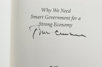 """Bill Clinton Signed """"Back To Work"""" Hardcover Book (JSA ALOA) at PristineAuction.com"""