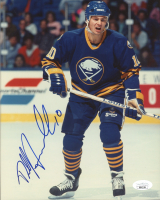 Dale Hawerchuk Signed Sabres 8x10 Photo (JSA COA) at PristineAuction.com
