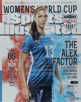 "Alex Morgan Signed Team USA Soccer LE 16x20 Photo Inscribed ""Team USA 2015 WC Champs"" (Steiner COA) at PristineAuction.com"