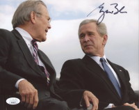 George W. Bush Signed 8x10 Photo (JSA COA) at PristineAuction.com