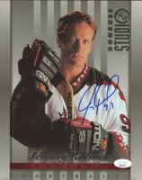 Jeremy Roenick Signed 1997-98 Studio Portraits 8x10 #30 (JSA COA) at PristineAuction.com