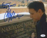 "Ralph Macchio Signed ""Cobra Kai"" 8x10 Photo Inscribed ""Forever My Sensei"" (AutographCOA COA) at PristineAuction.com"