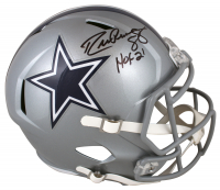 """Drew Pearson Signed Cowboys Speed Full-Size Helmet Inscribed """"HOF 21"""" (Beckett Hologram) at PristineAuction.com"""