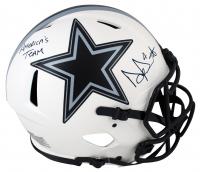 Dak Prescott Signed Cowboys Full-Size Authentic On-Field Lunar Eclipse Alternate Speed Helmet (Beckett Hologram) at PristineAuction.com