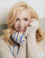 Peyton List Signed 8x10 Photo (AutographCOA COA) at PristineAuction.com