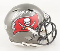 Antoine Winfield Jr. Signed Buccaneers Speed Mini Helmet (Beckett Hologram) at PristineAuction.com
