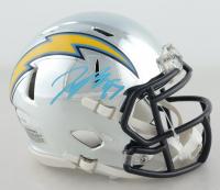 Joey Bosa Signed Chargers Chrome Speed Mini-Helmet (JSA COA) at PristineAuction.com