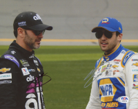 Chase Elliott & Jimmie Johnson Signed NASCAR 8x10 Photo (PSA COA) at PristineAuction.com