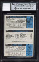 Larry Bird, Julius Erving & Magic Johnson Signed 1980-81 Topps #6 RC (BGS Encapsulated) at PristineAuction.com
