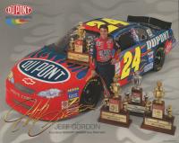 Jeff Gordon Signed NASCAR 8x10 Print (PSA COA) at PristineAuction.com