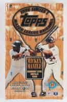 1996 Topps Series 1 Baseball Hobby Box at PristineAuction.com