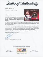 Dale Earnhardt Signed Goodwrench Service Plus 8x10 Print (PSA LOA) at PristineAuction.com