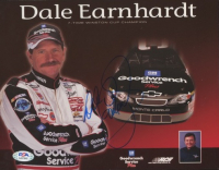 Dale Earnhardt Signed 8x10 Print (PSA LOA) at PristineAuction.com