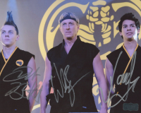 "William Zabka, Xolo Mariduena & Jacob Bertrand Signed ""Cobra Kai"" 8x10 Photo (Radtke COA) at PristineAuction.com"