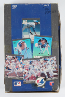 1991 Fleer Ultra Baseball Foil Box with (36) Packs (See Description) at PristineAuction.com