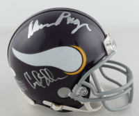"Vikings ""Purple People Eaters"" Throwback Mini-Helmet Team-Signed by (4) with Carl Eller, Jim Marshall, Alan Page & Gary Larsen (JSA COA) at PristineAuction.com"