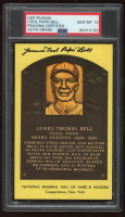 "James ""Cool Papa"" Bell Signed Hall of Fame Plaque Postcard (PSA Encapsulated) at PristineAuction.com"