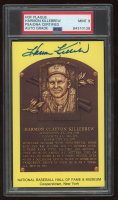 Harmon Killebrew Signed Hall of Fame Plaque Postcard (PSA Encapsulated) at PristineAuction.com