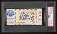 Nolan Ryan Signed 1973 MLB All-Star Game Ticket (PSA Encapsulated) at PristineAuction.com