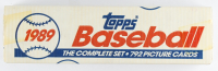 1989 Topps Baseball Complete Factory Set of (792) Baseball Cards at PristineAuction.com