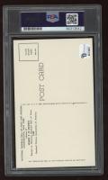 Joe DiMaggio Signed Hall of Fame Plaque Postcard (PSA Encapsulated) at PristineAuction.com
