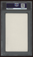 Walter Aston Signed 3x5 Cut (PSA Encapsulated) at PristineAuction.com