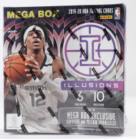 2019/20 Panini Illusions Basketball Mega Box of (10) Packs (See Description) at PristineAuction.com