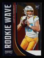 Justin Herbert 2020 Playoff Rookie Wave #4 at PristineAuction.com