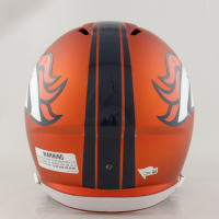 Peyton Manning Signed Broncos Full-Size Blaze Speed Helmet (Fanatics Hologram) at PristineAuction.com