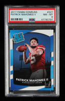 Patrick Mahomes II 2017 Donruss #327 RR RC (PSA 8) at PristineAuction.com