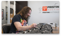 """Ari Lehman Signed """"Friday the 13th"""" Jason Voorhees Mask Inscribed """"Jason Never Dies!"""" & """"The OG Jason"""" (PA COA) at PristineAuction.com"""