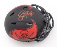 Jason Pierre-Paul Signed Buccaneers Eclipse Alternate Speed Mini Helmet (Beckett COA) at PristineAuction.com