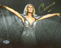 Celine Dion Signed 8x10 Photo (Beckett COA) at PristineAuction.com