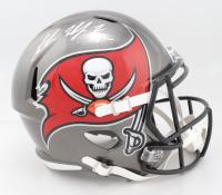 Antoine Winfield Jr. Signed Buccaneers Full-Size Super Bowl LIV Champions Logo Speed Helmet (Beckett Hologram) (See Description) at PristineAuction.com