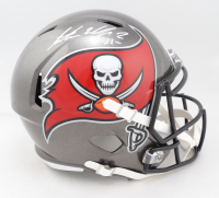Antoine Winfield Jr. Signed Buccaneers Full-Size Speed Helmet (Beckett Hologram) at PristineAuction.com