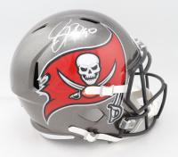 Jason Pierre-Paul Signed Buccaneers Full-Size Super Bowl LIV Champions Logo Speed Helmet (Beckett COA) (See Description) at PristineAuction.com